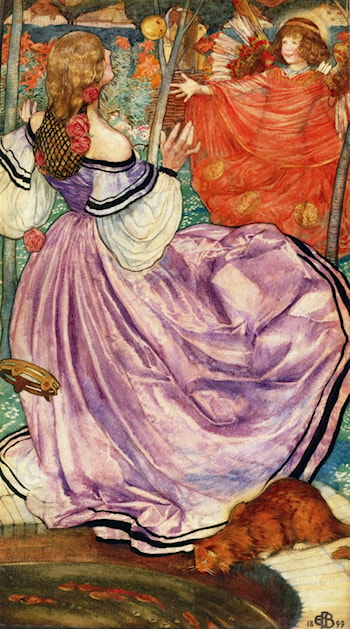 The Gilded Apple by Eleanor Fortescue-Brickdale