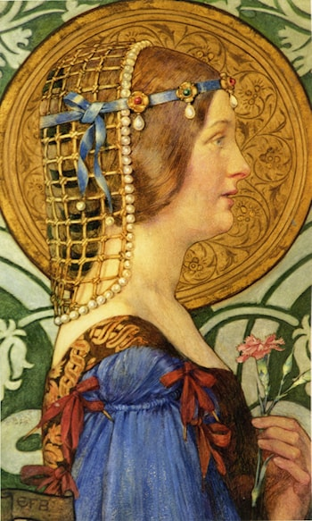 If One Could Have That Little Head of Hers by Eleanor Fortescue-Brickdale
