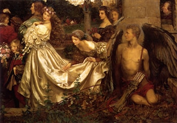 The Uninvited Guest by Eleanor Fortescue-Brickdale