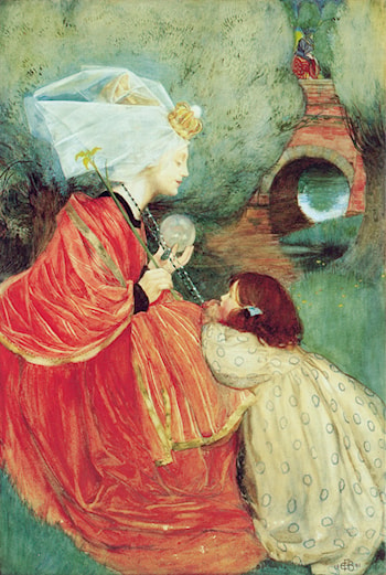 Today for Me by Eleanor Fortescue-Brickdale