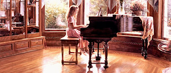 The Music Room by Steve Hanks