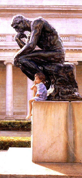 The Thinkers by Steve Hanks