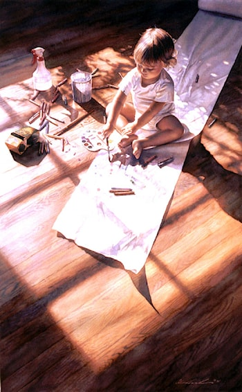 Young at Art by Steve Hanks