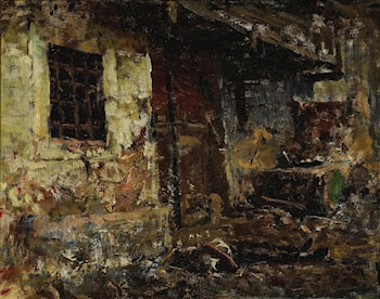 A body in the street by Mariano Jose Maria Bernardo Fortuny y Carbo