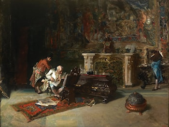 The Collector of Prints by Mariano Jose Maria Bernardo Fortuny y Carbo
