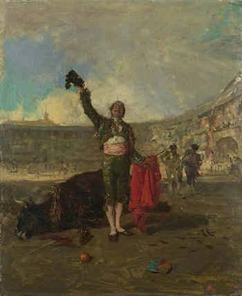 The Bull-Fighter's Salute by Mariano Jose Maria Bernardo Fortuny y Carbo