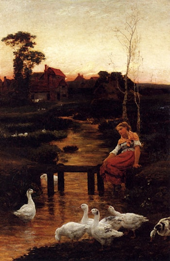 Goosey, Goosey Gander by Alice Mary Havers