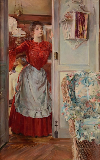 Girl at the Door by Emilio Sala y Frances