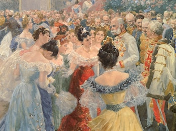 The State Ball by Wilhelm Gause