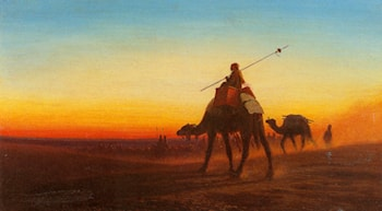 Caravanne au Couche­Sol by Charles Theodore Frere