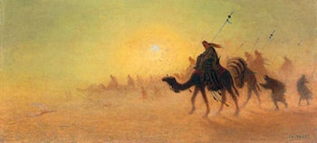 Crossing the Desert by Charles Theodore Frere