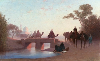 Environs du Caire by Charles Theodore Frere