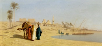 The Banks of the Nile by Charles Theodore Frere