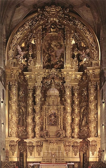 Main Altar by Jose Benito Churriguera