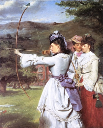 English Archers: The Nineteenth Century by William Powell Frith