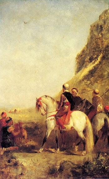 Arabs Hunting by Eugene Fromentin