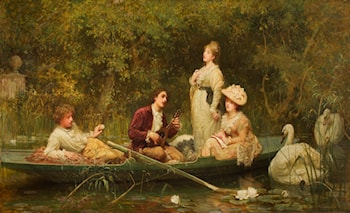 Fair Quiet and Sweet Rest by Luke Fildes