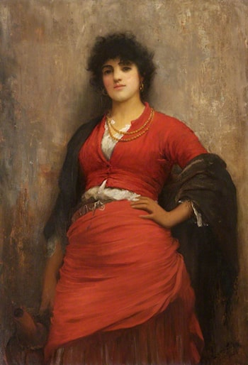 Daughter of the Lagoons by Luke Fildes