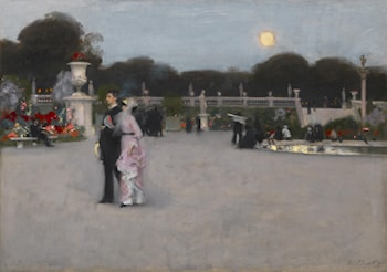 In the Luxembourg Gardens by John Singer Sargent