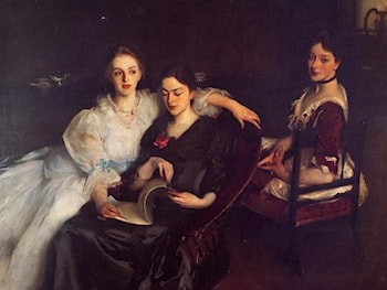 The Misses Vickers by John Singer Sargent