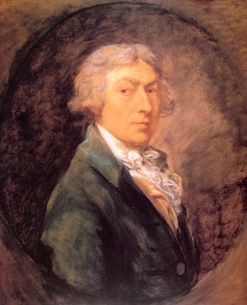 Self­Portrait by Thomas Gainsborough