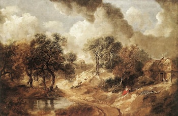 Landscape in Suffolk by Thomas Gainsborough