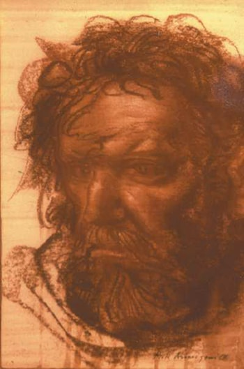 Study for an Apostle by Pietro Annigoni