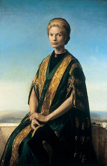 HRH the Duchess of Kent (b.1933), Chancellor of the University of Leeds (1965–1999) by Pietro Annigoni