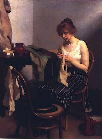 The Seamstress by Robert Hale Ives Gammell