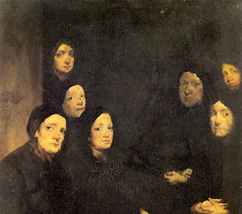At the Sermon by Theodule Augustine Ribot