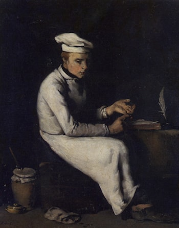 The Cook Accountant by Theodule Augustine Ribot