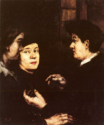 The Conversation by Theodule Augustine Ribot