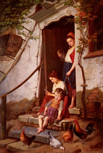The Farmer's Children by Theodore Gerard