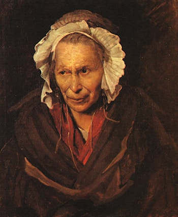 Madwoman by Theodore Gericault