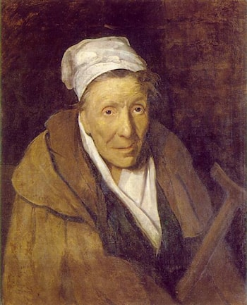 Woman with Gambling Mania by Theodore Gericault