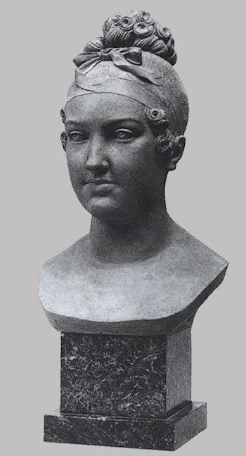 Bust of the Empress Marie­Louise by Francois-Nicolas Delaistre