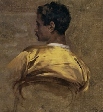 Study of an Arab by Charles Bargue