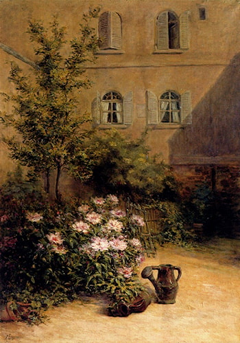 A Corner Of The Garden by Remy E. Landeau