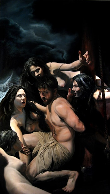 Odysseus and the Sirens by Eric Armusik