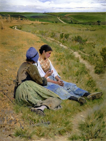 Peines du Coeur by Charles Sprague Pearce
