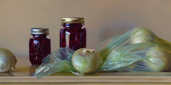Onions and Pickled Beets by Jeffrey T. Larson