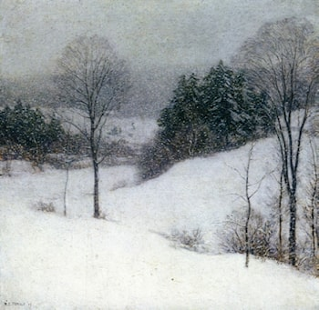 The White Veil by Willard Leroy Metcalf