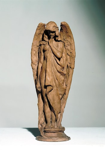 Mourning Angel by Alfred Gilbert