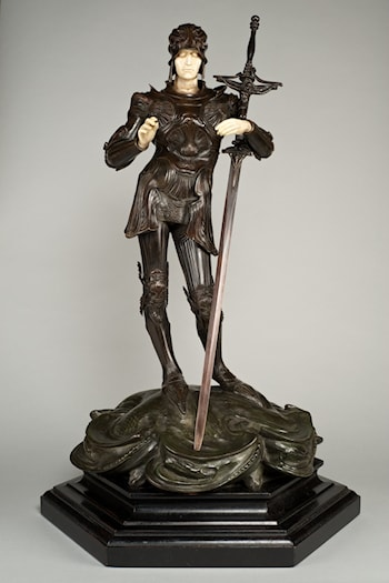 St George by Alfred Gilbert
