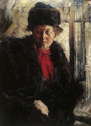 Portrait of a Lady by Nicolai Fechin