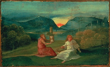 The Hour Glass by Giorgione