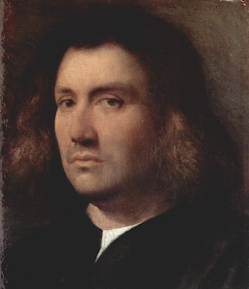 Portrait of a Man by Giorgione
