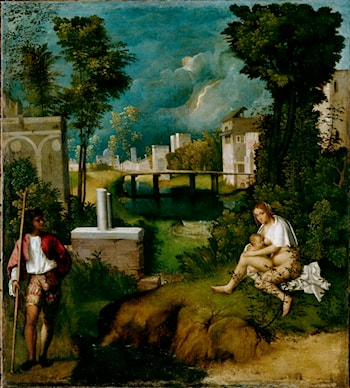 The Tempest by Giorgione