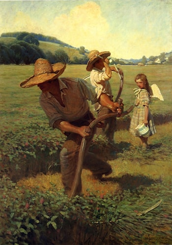 The Scythers by Newell Convers Wyeth