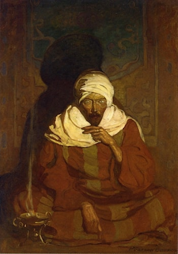 A Hindu Mystic by Newell Convers Wyeth